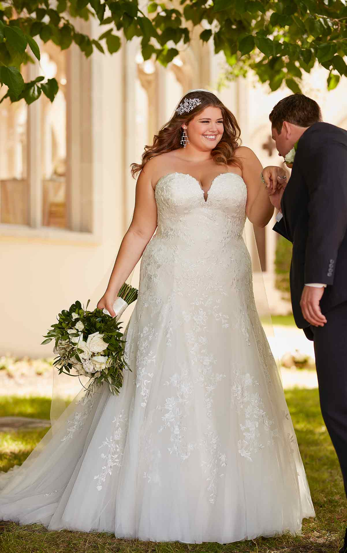 Plus Size Brautkleid Stella York