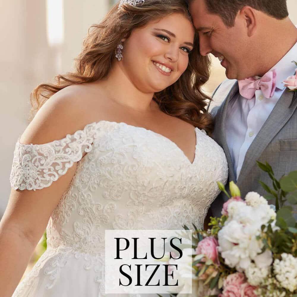 Plus Size Brautkleider