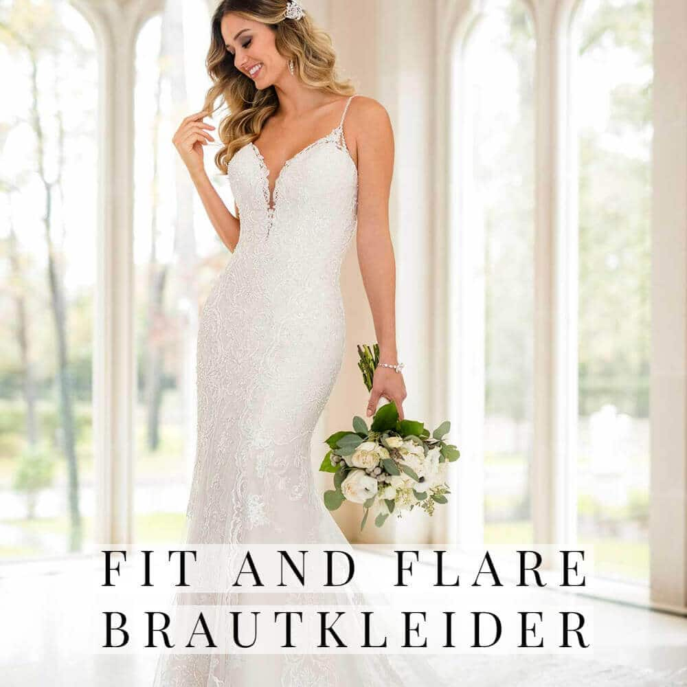 Fit and Flare Brautkleider
