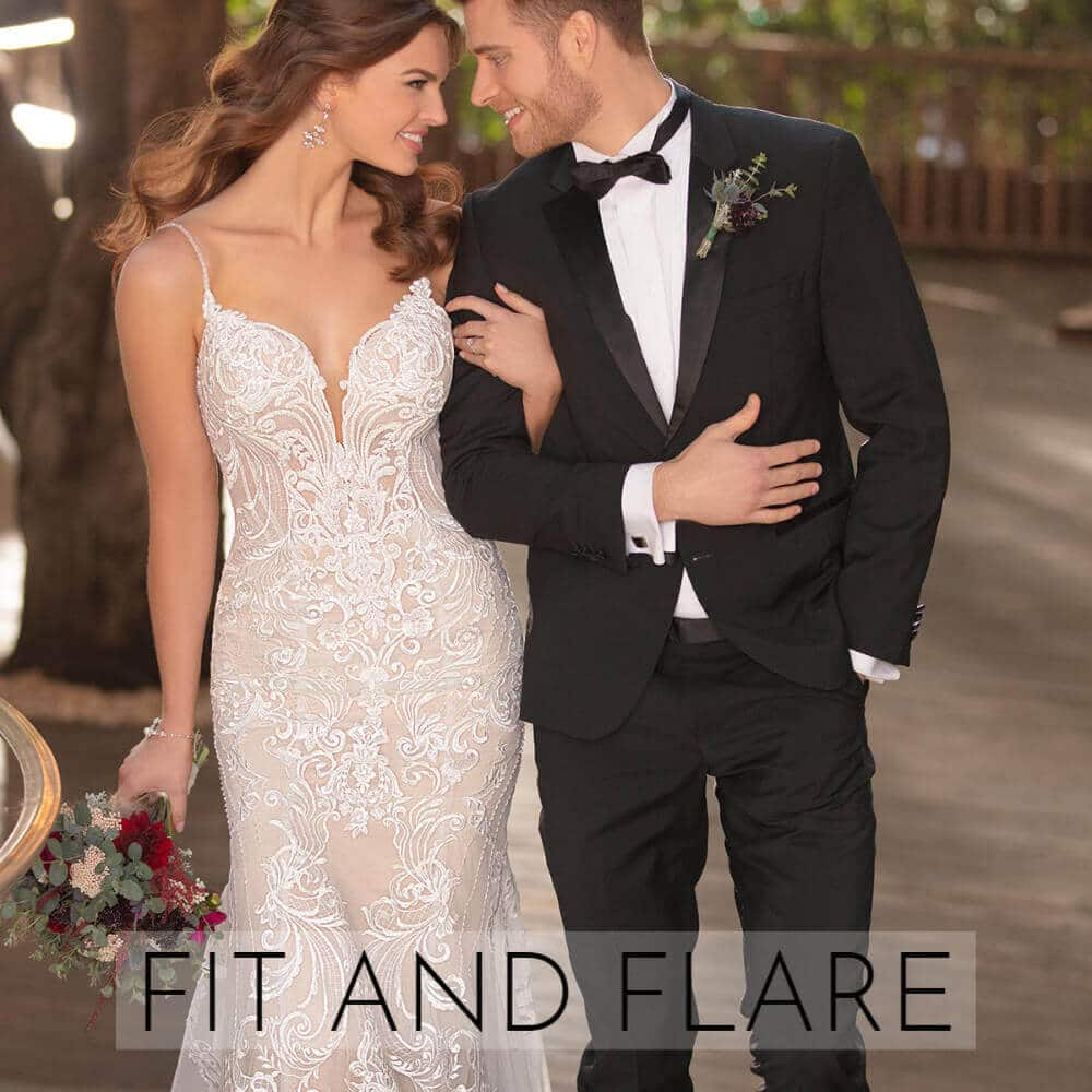 Fit and Flare Brautkleider