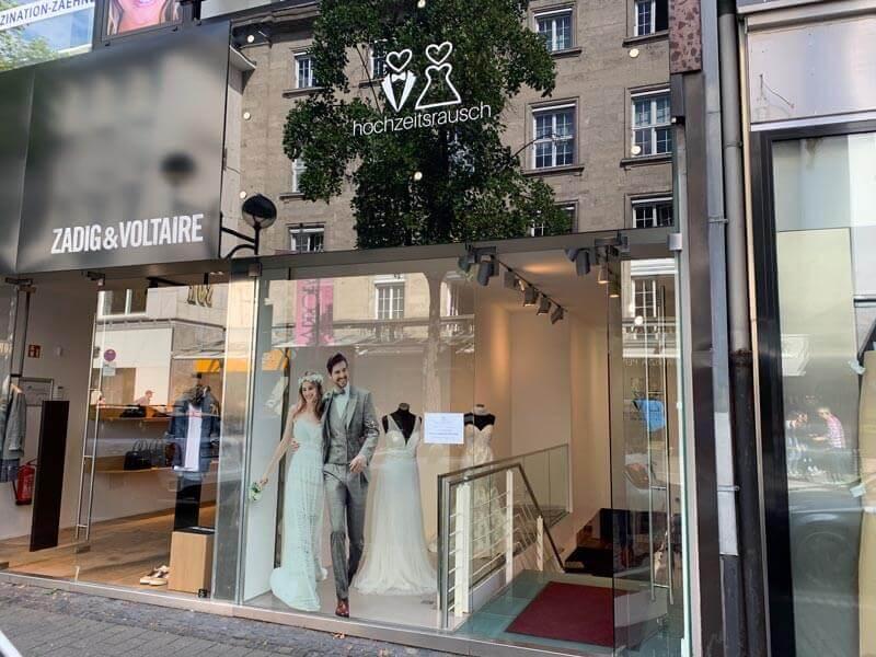 hochzeitsrausch Brautmoden Outlet Köln