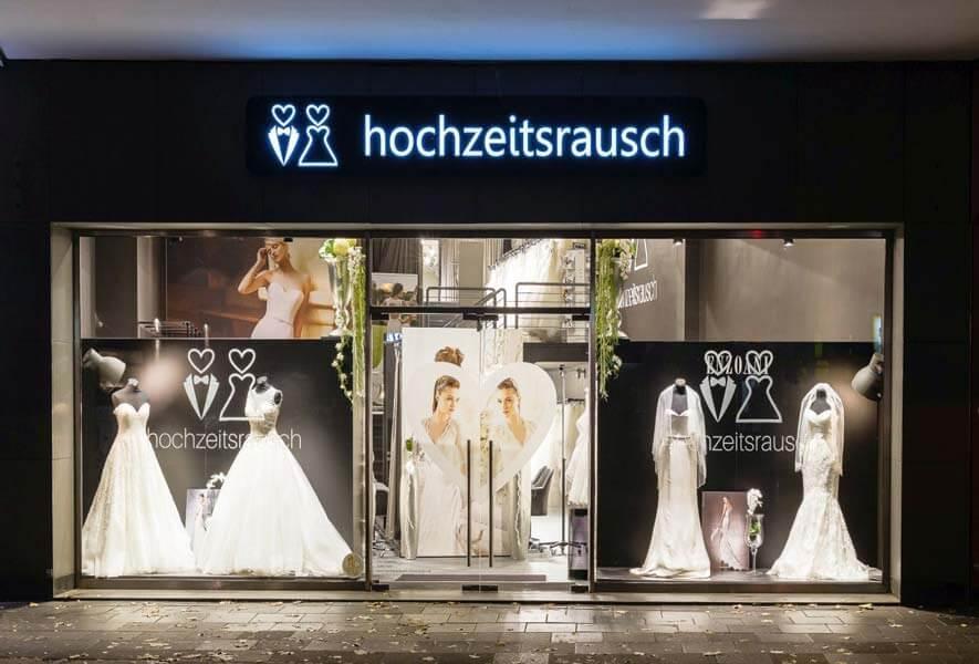 hochzeitsrausch Brautmoden Köln Flagship