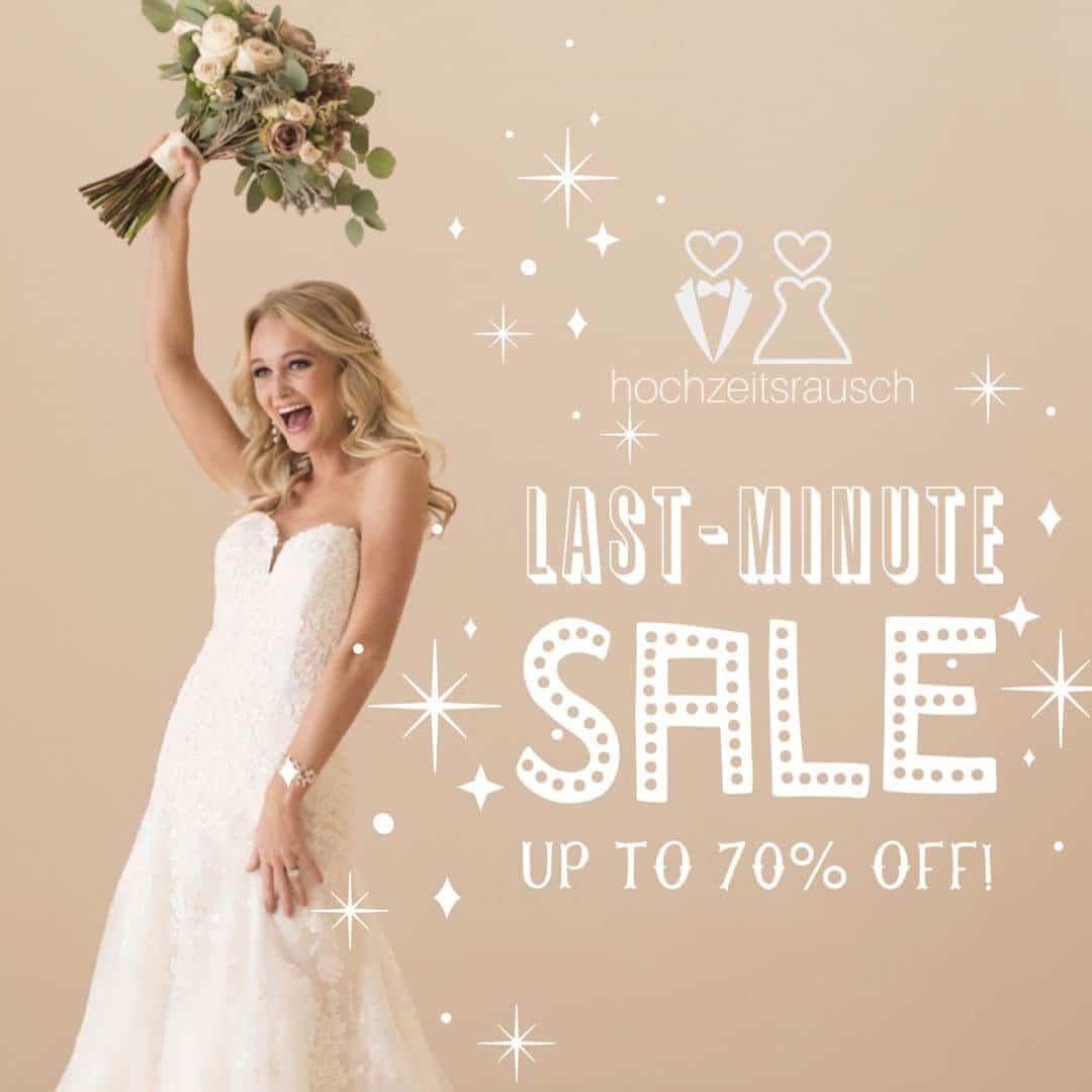 Brautkleider last minute sale