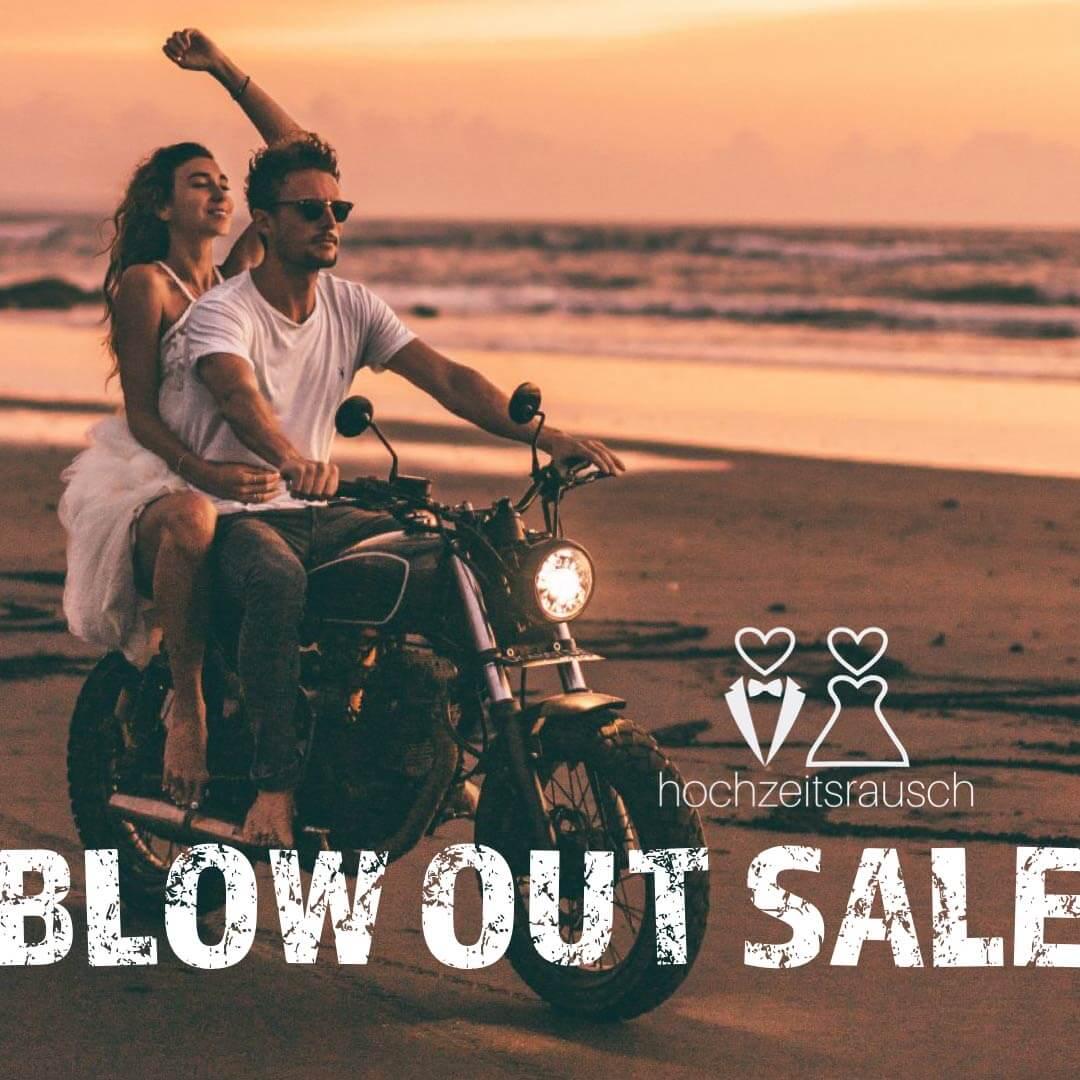 hochzeitsrausch Blow Out Sale