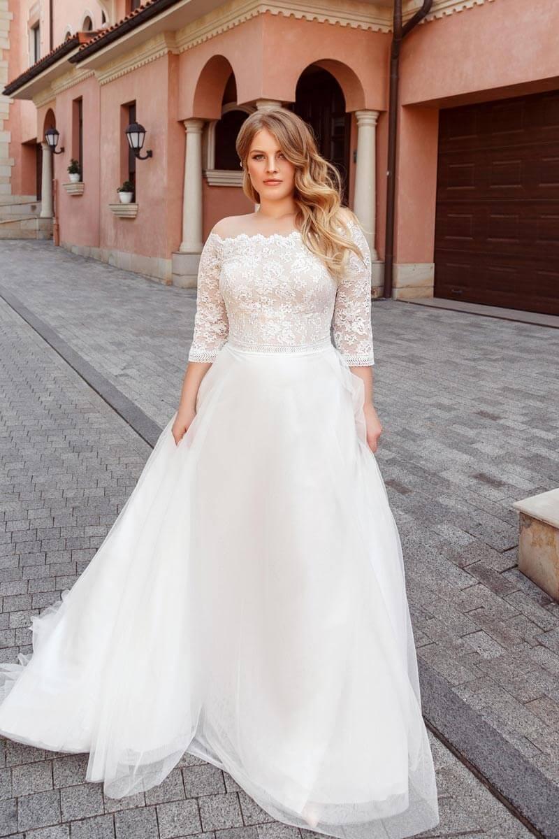 Plus Size Brautkleider Köln - hochzeitsrausch Brautmoden