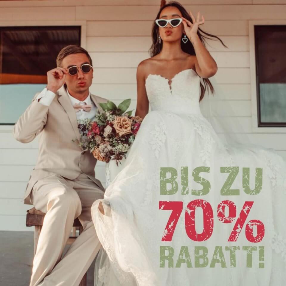 Blow Out Sale Brautkleider - hochzeitsrausch Brautmoden