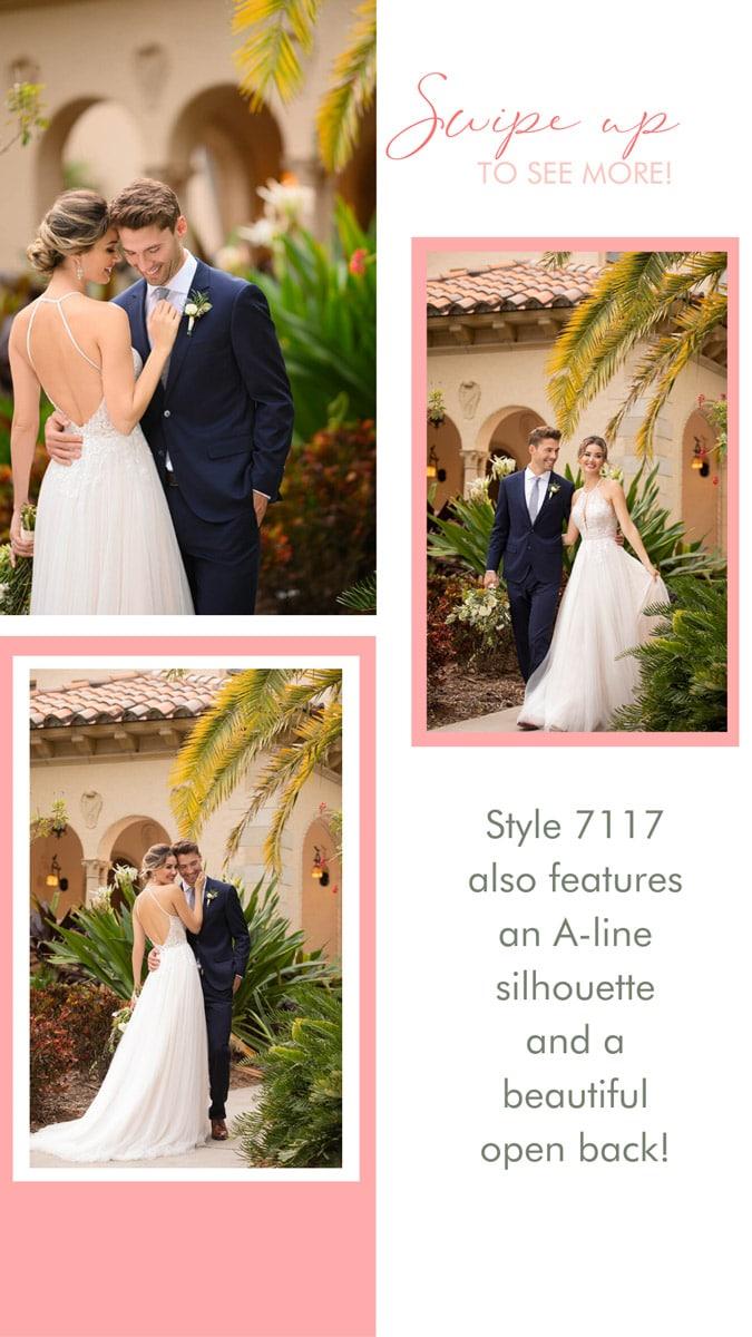 Brautmoden 7117 Stella York