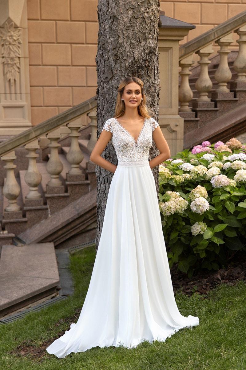 Angela Bianca 1038 Standesamt Brautkleid