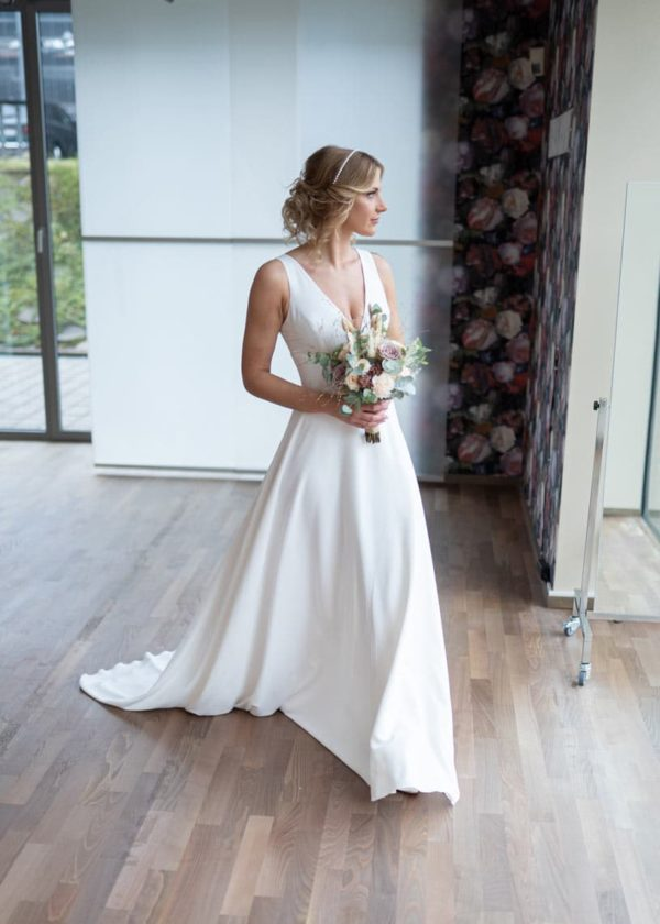 bridalicious guenstiges Brautkleid Rose