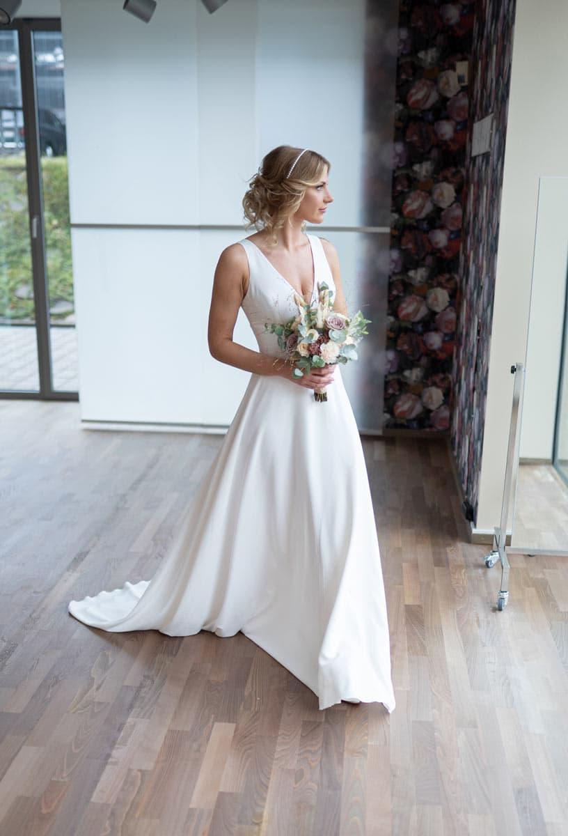 bridalicious guenstiges Brautkleid Rose