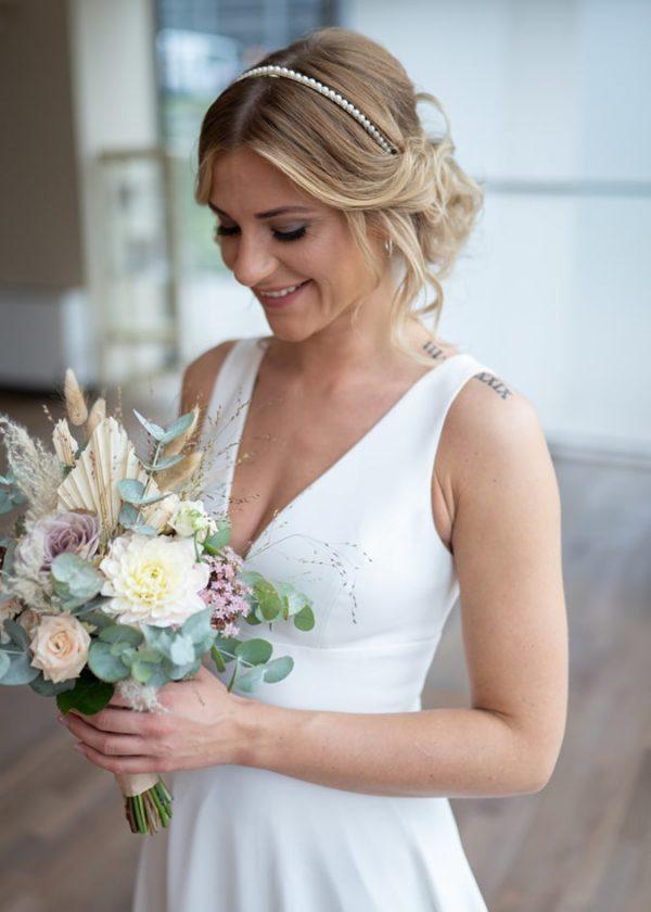 bridalicious Standesamt Brautkleid Rose