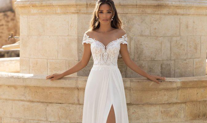 Brautkleider für kleine Brüste
