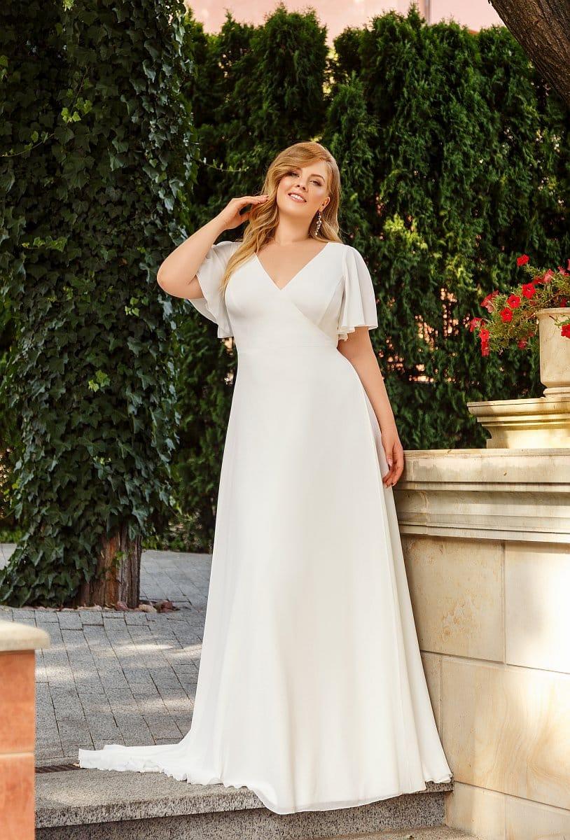 Angela Bianca 1001 Brautkleid Hochzeitskleid