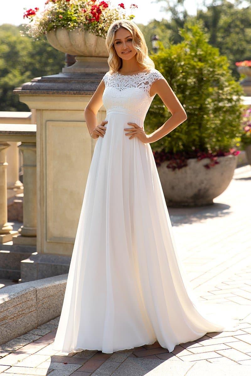 Angela Bianca 1052 Brautkleid Hochzeitskleid