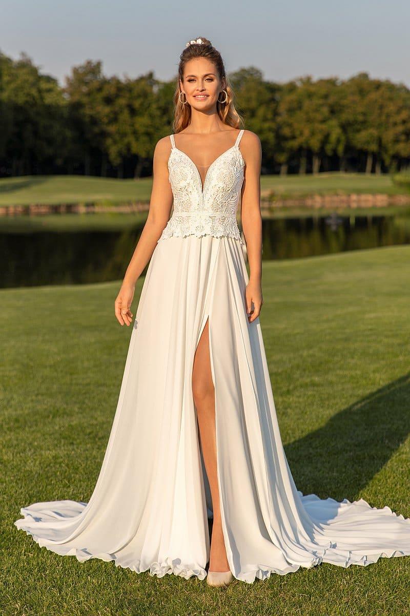 Angela Bianca 1053 Brautkleid Hochzeitskleid
