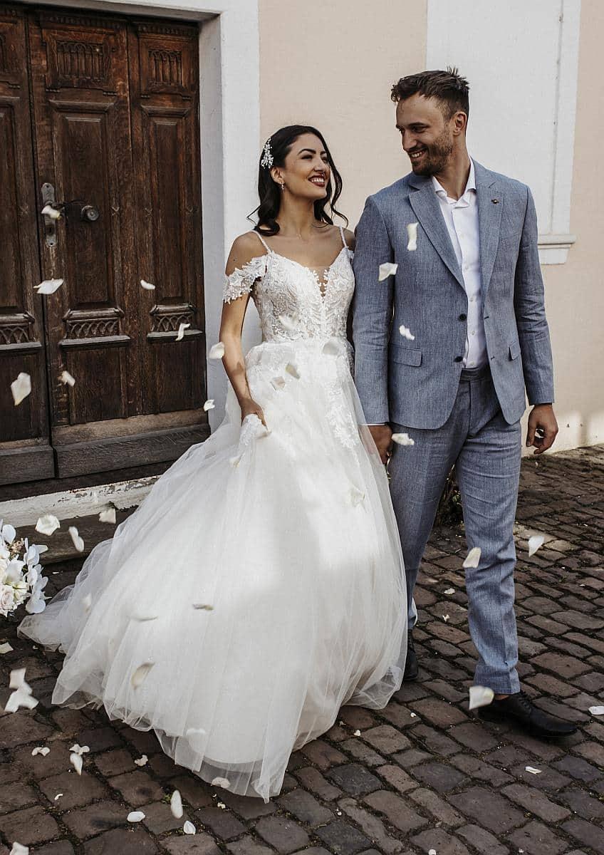Brautkleider Berlin bei hochzeitsrausch Brautmoden