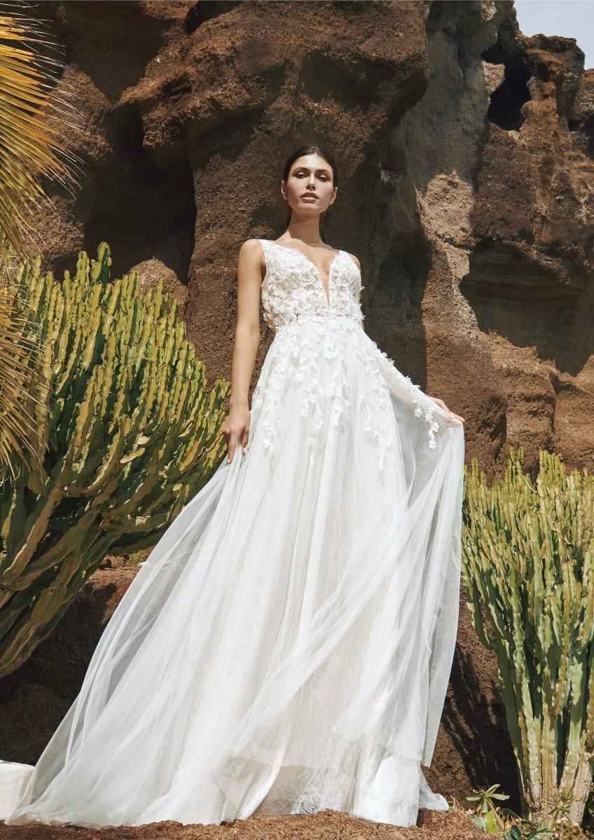 Pronovias Vik Brautkleid Hochzeitskleid