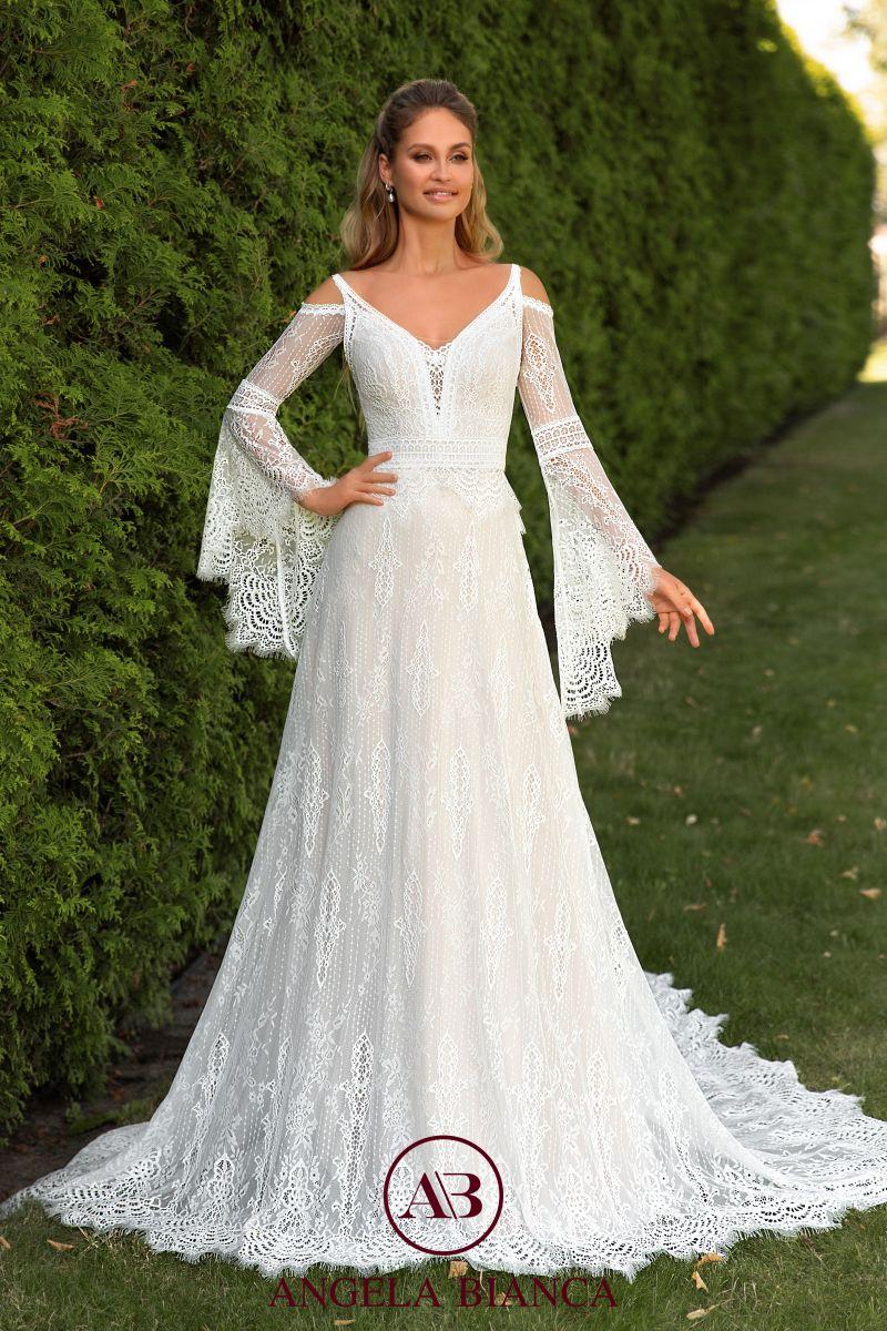 Angela Bianca 8014 Lace Skirt