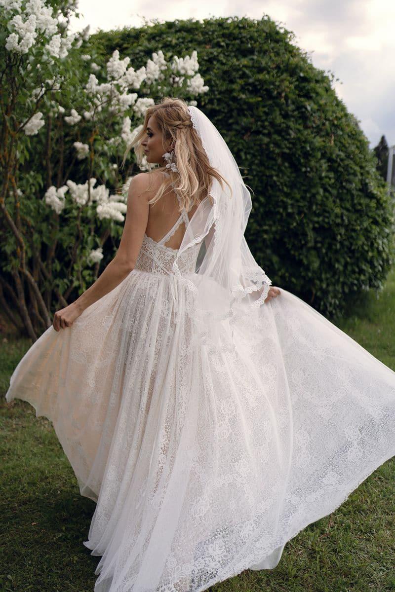 Dama Couture Bjork Brautkleid Hochzeitskleid