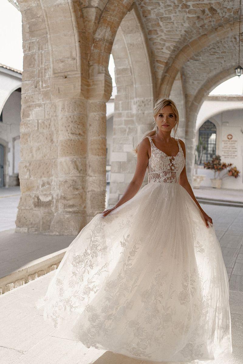 Dama Couture Rosa Brautkleid Hochzeitskleid